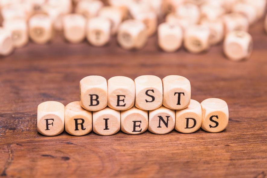 Tipos de amistades. ¿Puedes ubicar a las tuyas?